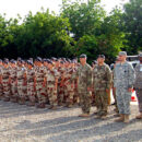 France Chad: French and Chad military participate in ceremony to commemorate launch of Operation Barkhane. Credit: Chief Warrant Officer 3 Martin S. Bonner.