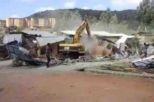 In February, bulldozers began demolishing thousands of homes in Legetafo Legedadi, outside Addis Ababa.