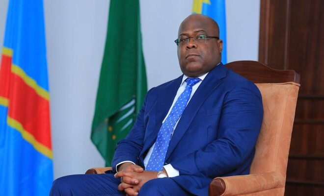 Opposition figure Felix Tshisekedi became president after massively disputed elections in December 2018. Credit: Felix Tshisekedi - UDPS.
