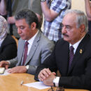 Libya Haftar: Warlord Khalifa Haftar launched an offensive on the capital Tripoli last week. Credit: МИД России.