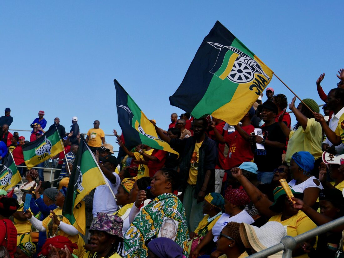An ANC rally in Port Elizabeth ahead of the 8 May 2019 election. Credit: Martin Plaut.