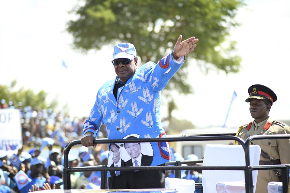 Can President Peter Mutharika stay in power after the 21 May Malawi elections? Credit: APMutharika.