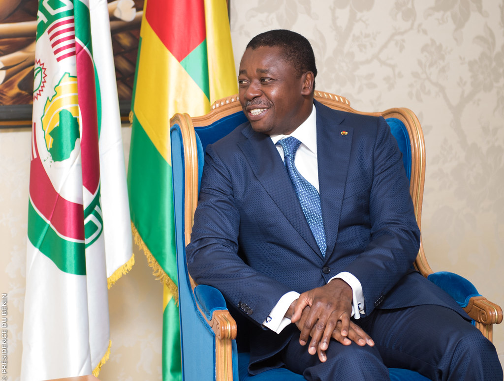 Togo constitution: President Faure Gnassingbé of Togo has ruled since 2005 and could continue to 2030. Credit: Presidence Benin.