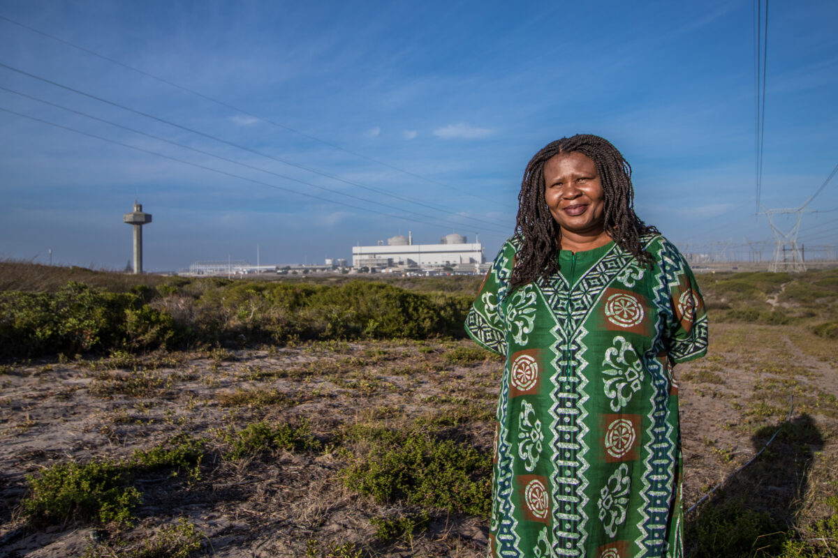 Makoma Lekalakala was the joint winner of the Goldman Environmental Prize in 2018. Credit: Goldman Environmental Prize.