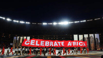 Africa Cup of Nations closing ceremony, 10 Feb 2013. Courtesy photo by GovernmentZA.