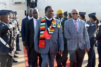 President of Zimbabwe Emmerson Mnangagwa was Minister for State Security at the time of the Gukurahundi massacres. Credit: DIRCO News Service/ Jacoline Schoonees.