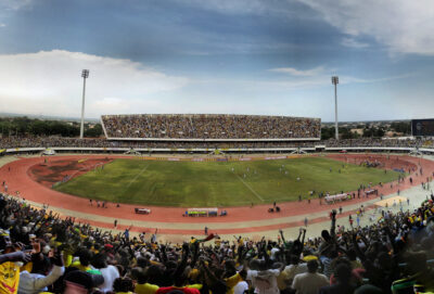 An AFCON Qualification match in 2012 between Togo and Gabon. Credit: Panoramas.
