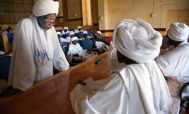 Local judges attend a human rights workshop in North Darfur. Credit: Albert González Farran/UNAMID.