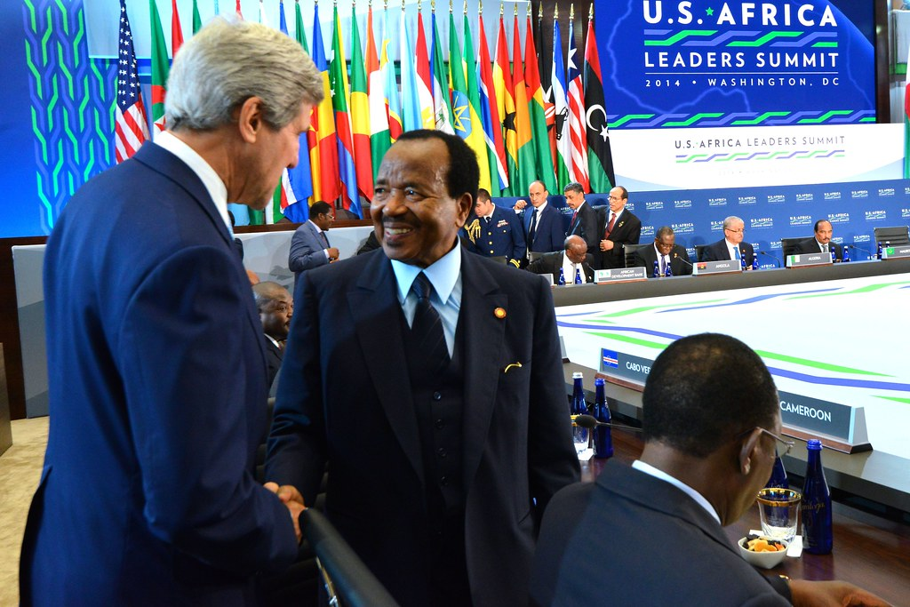 Cameroon crisis: President Paul Biya, 86, has been in power since 1982. Credit: US State Department.