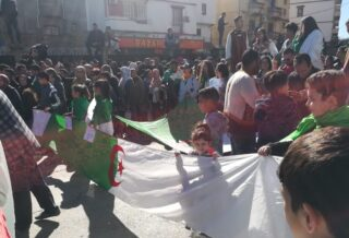 The Algeria protests have been ongoing since February 2019. Credit: Khirani Said.