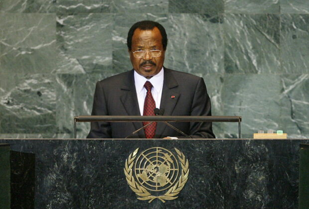 President Paul Biya of Cameroon has been in power since 1982. Credit: UN Photo/Marco Castro.