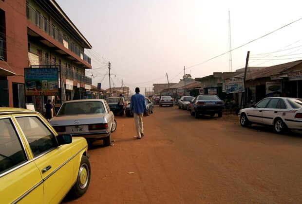 On the streets of Kaduna in north-west Nigeria. Credit: pjotter05.