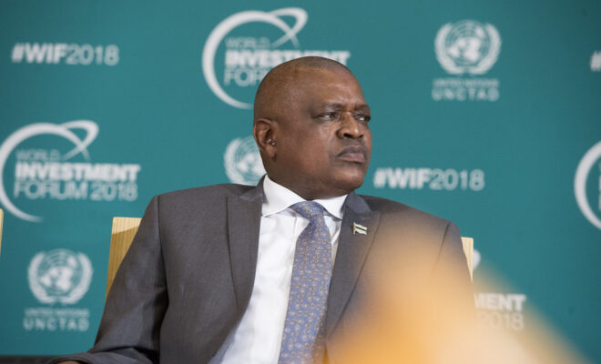 Will President Mokgweetsi Masisi of Botswana be re-elected tomorrow? Credit: UNCTAD/Violaine Martin.