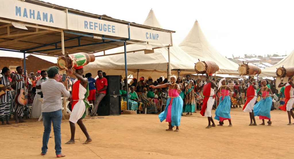 At Mahama Refugee Camp in Rwanda. Credit: UN Women/Tumaini Ochieng