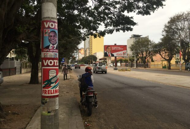 Frelimo won big in the 2019 Mozambique elections. Credit: James Wan.