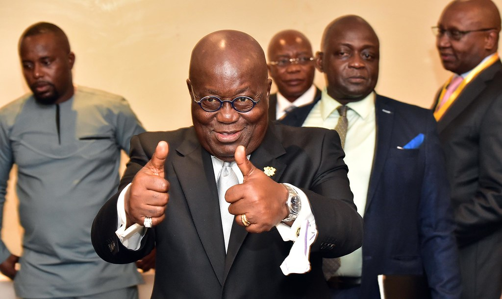 The public will likely have to pressure President Nana Akufo-Addo and the government to adopt a new bill on unexplained wealth orders. Credit: GCIS.