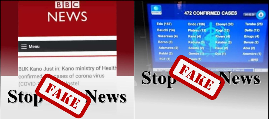 Fake news around the coronavirus has been spreading quickly in Nigeria.