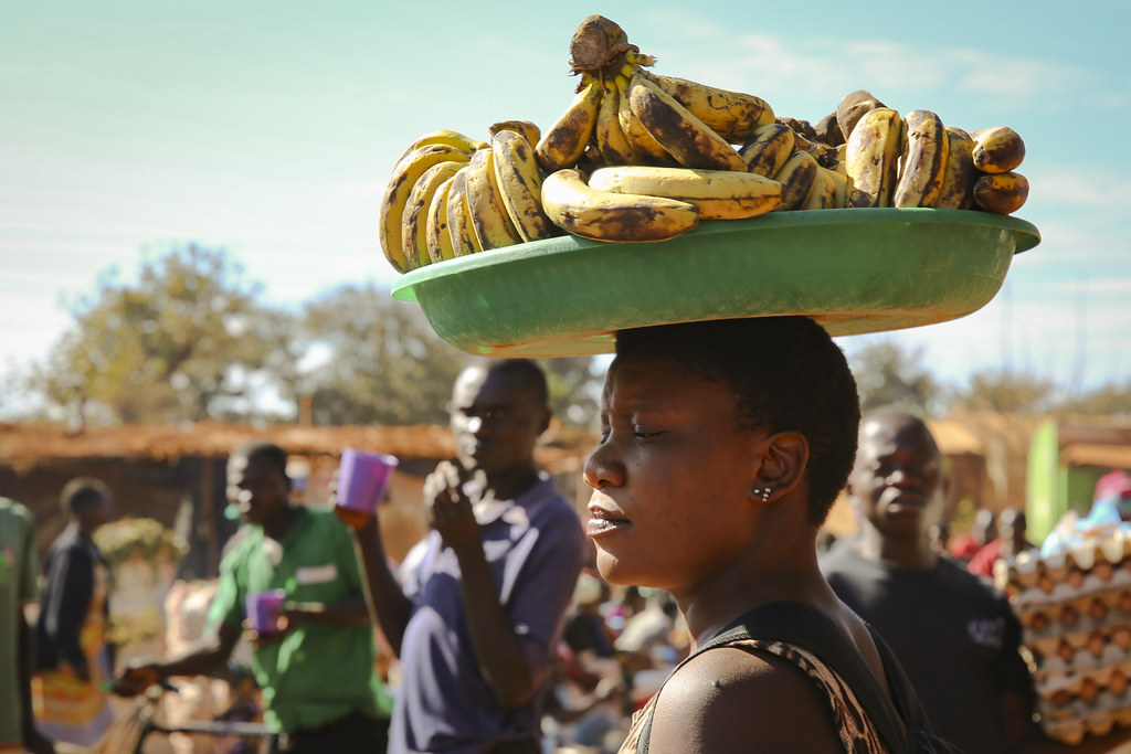 Many market traders in Malawi say they will not be able to survive a coronavirus lockdown without government support for the poor. Credit: Melissa Cooperman/IFPRI.