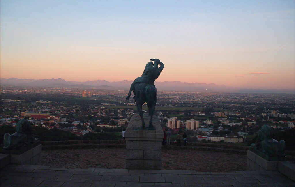 Many aspects of Africa's place in global economic structures has not changed since the time of Cecil Rhodes (memorial pictured) and before. Credit: Kathleena LO.