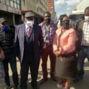 Tendai Biti and his five fellow MDC colleagues that were arrested on 5 June 2020. Credit: MDC Alliance.