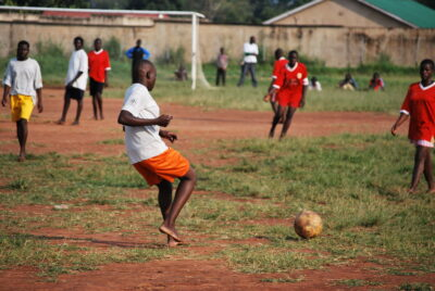 south sudan refugees sport football