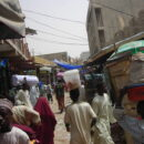women's association At a market in Kano. Credit: Jonathan Riddell.