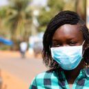 Africa coronavirus covid A woman in Mali wearing a mask. Credit: Photo: World Bank / Ousmane Traore.