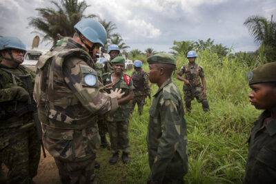 ISIS-DRC US sanctions against ADF come as US military advisers and the UN peacekeeping MONUSCO show renewed interest in supporting Congolese forces FARDC in conducting operations against the ADF. Credit: MONUSCO/Sylvain Liechti.