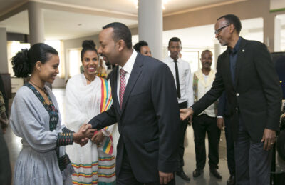tigray talks Prime Minister Abiy Ahmed of Ethiopia is known as having strong convictions but also being pragmatic. Credit: Paul Kagame.